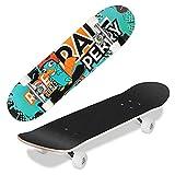 WeSkate Skateboard Kinder - 31x8 Zoll Komplette Cruiser...