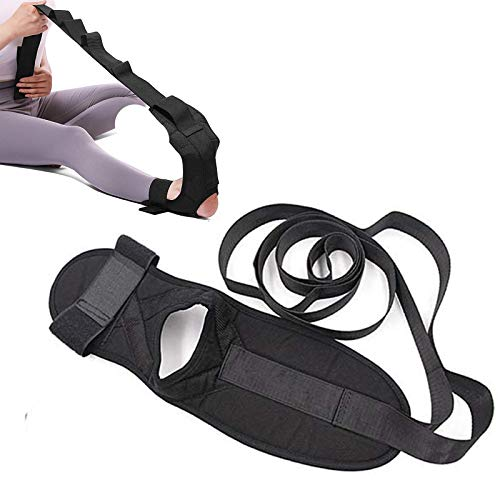 Yoga Ligament Stretching Belt Foot Drop Strap - Yoga Stretching Strap Rehabilitation Training Belt, Plantar Fasciitis Leg Training Foot Ankle Joint Correction Braces With Loops