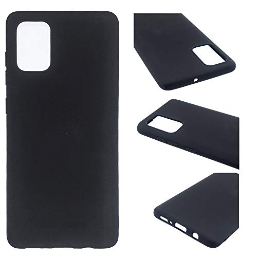 CoverKingz Funda de silicona para Samsung Galaxy A02s, color negro mate