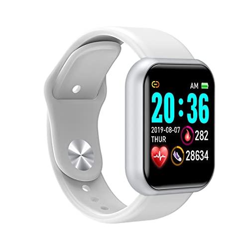 YQCH Reloj inteligente Inteligente impermeable IP65, natación impermeable smartwatch fitness Tracker reloj fitness monitor de ritmo cardíaco, para hombres mujeres niños compatible con iPhone Android