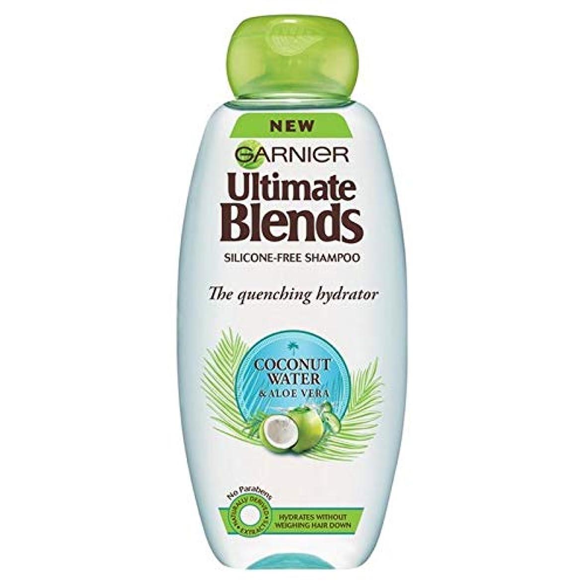 ピンポイントやがて量で[Garnier ] ガルニエ究極のブレンドココナッツ水ドライヘアシャンプー360ミリリットル - Garnier Ultimate Blends Coconut Water Dry Hair Shampoo 360ml [並行輸入品]