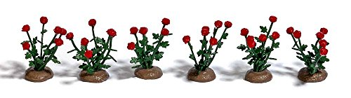 Busch 1241 - 36 Roses, déjà montées, véhicule