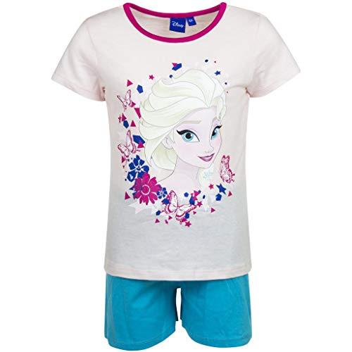 La Reine des Neiges Pijama corto, niña rosa claro 6 años