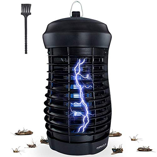 Pinnacle Protection Indoor Use Bug Zapper | Kills Moths, Flies, Mosquitoes and Other Insects