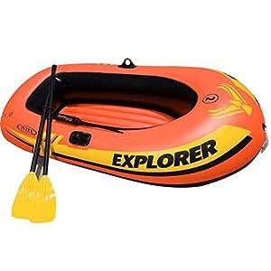 FACAI Kayak Hinchable Inflable Kayak Canoa Hinchable 2 Personas con 2 Remos Barco De Kayak Unisex