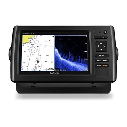 Read About Garmin Echomap Chirp 74Cv with transducer, 010-01801-01