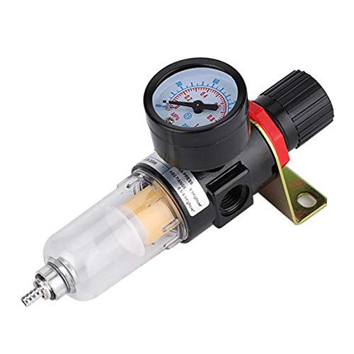Regulador de filtro de aire, separador de aceite y agua con aire comprimido para herramientas neumáticas.