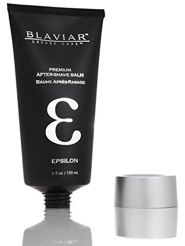 Epsilon by Blaviar | Ultra-Luxury Eau de Cologne After-Shave Balm, 5 fl oz / 150 mL
