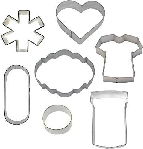7 Piece Medical Cookie Cutter Set Nurse Get Vergenta 5% OFF Well Baltimore Mall Doctor