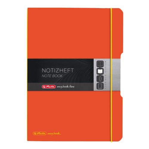 Herlitz A4 My Book Flex Notebook - Orange