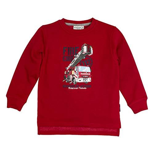 SALT AND PEPPER Baby-Jungen B Sweat Little Hero Rescue Sweatshirt