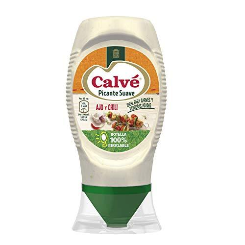 Calvé – Milde Hete Saus – met een vleugje chili, is de perfecte begeleiding bij vlees, gegrilde kip en geroosterde…