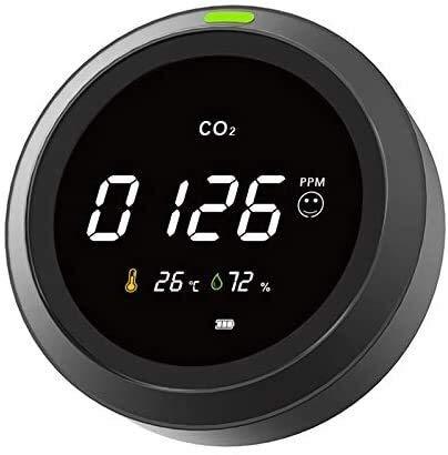 no-branded CO2-Messgerät Detektor Luftqualitäts Monitor Temperatur- Und Feuchtigkeitsanzeige XXYHYQHJD