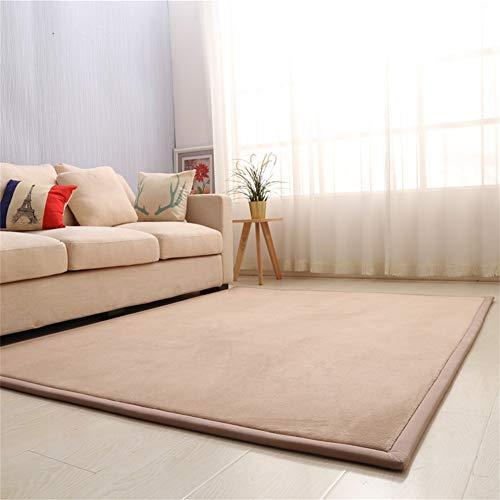 Coral fluweel tapijt, traagschuim, voor baby-crawling, ingangmat, zacht tapijt, speeltapijt voor kinderen, slaapkamer, woonkamer, tapijt, wol, yogamat, oefenkussens