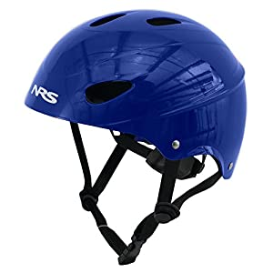 NRS Havoc Adult Livery Whitewater Kayak Rafting Safety Water Sport Helmet, One Size Fits Most, Matte Black