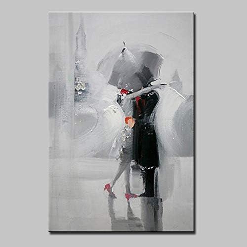 JINTAIYANG Peinture à l'huile Peinture à l'huile Dessiné à La Main - Gens Moderne Peinture sur Toile Art Mur Chambre à La Maison Bureau Décoration