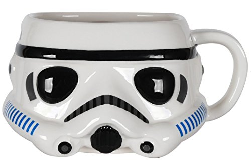 Funko 6988 Star Wars POP Home Stormtrooper Mug, Céramique, Blanc, 14 x 9,5 x 13,3 cm