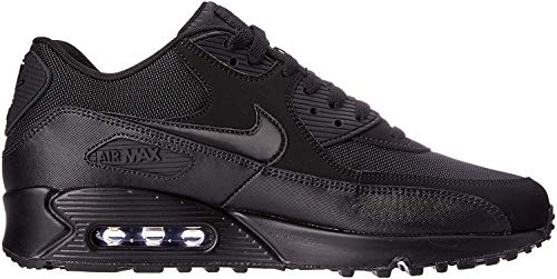 Nike Air Max 90 Essential, Scarpe da Ginnastica Uomo, Nero (Black / Black-Black-Black), 44 EU