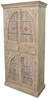 Marrakech Accessoires–Grande–Armario ropero Belen 190cm de altura marroquí Vintage Vestíbulo Armario estrecho | Marr...