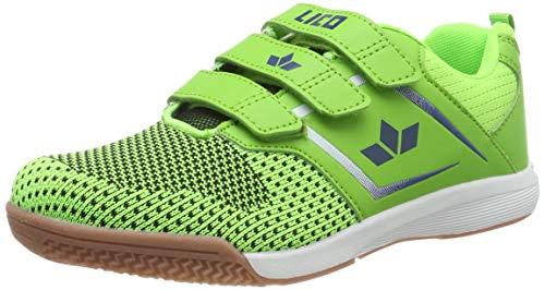 Lico Unisex-Erwachsene Chess V Multisport Indoor Schuhe, Gelb (Lemon/Blau Lemon/Blau), 38 EU