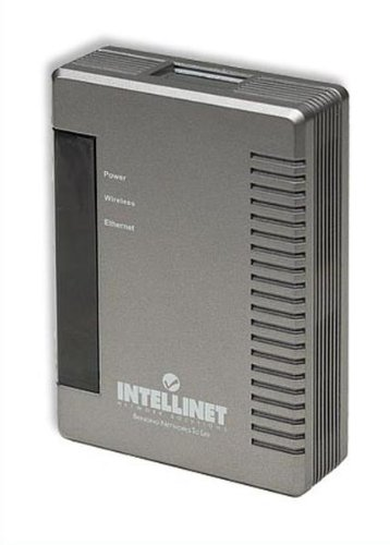 Intellinet Wireless G Broadband Travel Router, 54 Mbps Wireless 802.11g, compact design