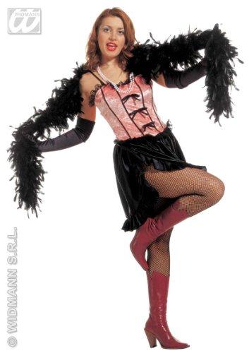 Dames saloon meisjeskostuum maat L 42-44 voor Moulin Rouge Wild West kostuum