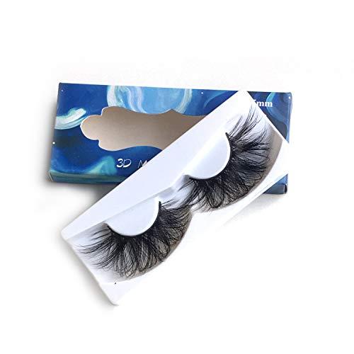25mm Mink Lashes 3D Mink Eyelashes Fluffy Natural Volumn Eyelashes Extension(X061) Ruairie