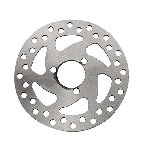 GOOFIT Scheibenbremse Platte für 47cc 49cc 2-Takt-Pocketbike