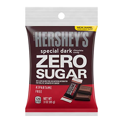 Hershey's Special Dark Chocolate Bars, Sugar Free,...