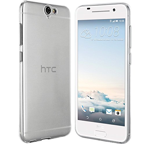 moodie Silikonhülle für HTC One A9 Hülle in Transparent Ultra Dünn - Hülle Schutzhülle Tasche für HTC One A9