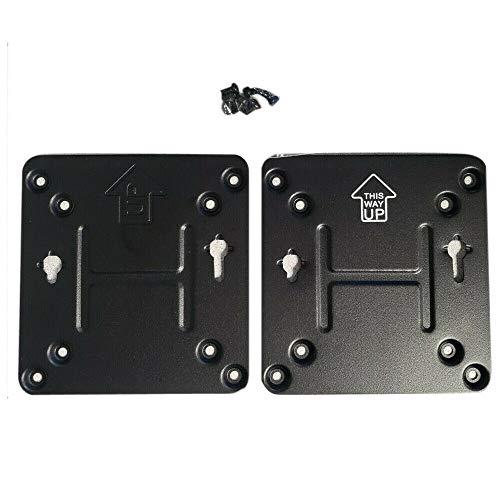 Zahara - Placa de montaje del soporte de montaje para Intel NUC Vesa con tornillos, sin cráneo o de hadas