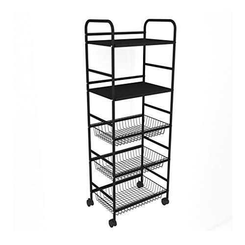Best Prices! ZLZ- Fruit and Vegetable Rack Multifunction Kitchen Storage Rack Kitchen Shelf Multi-la...