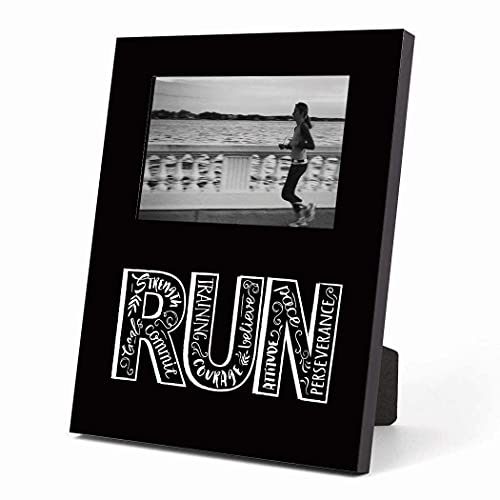 Running Picture Frame | Run with Inspiration | Black