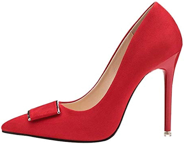PINGXIANNV Spitze Schuhe Der Der Der Hohen Absatzstilett-Frauen Die Schuhe Der Flachen Mundfrauen B07K69G52X  Elegantes Aussehen 88cddf