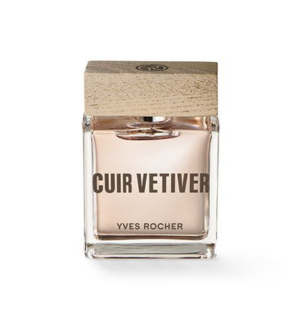 Yves Rocher–Eau de Toilette Cuir vétiver (50ml): Un Estética Hombre de aroma Completo sinnlicher Akzente