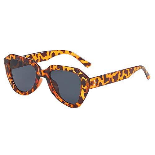 Gafas de sol Transwen para hombre y mujer, retro, con montura grande, gafas de sol, lentes polarizadas, gafas de sol