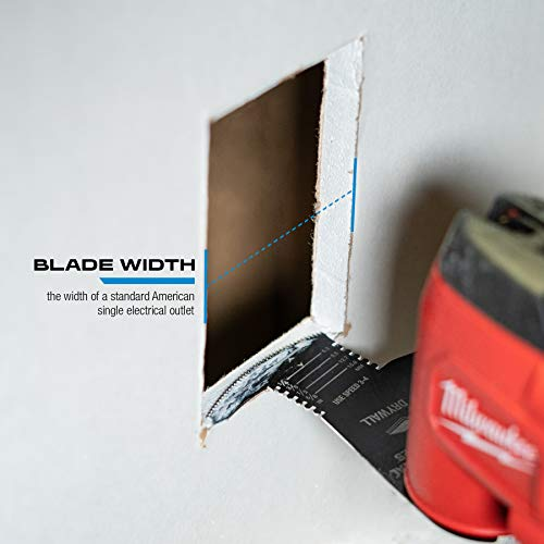 Imperial Blades IBOA800-1 One Fit 4-IN-1 Features Drywall Blade, 1PC