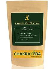 Zuivere Natuurlijke Kaolien Witte Klei, Beste voor Huid, 100g door ChakraVeda