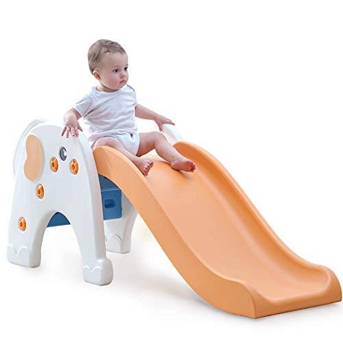 XIAOFEI Indoor-Plastikkinder, Bunte Kindergartenplastik-Wellenrutsche für Vorschule, moderner Hinterhof kleines Spielzeug Kinderplastikrutsche