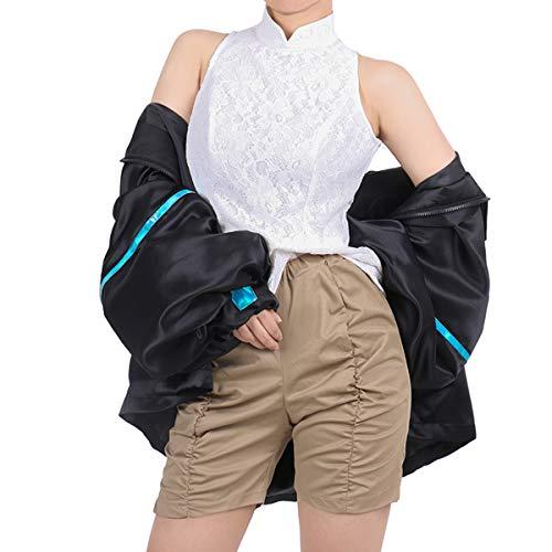 Xin Hai Yuan LOL Seraphine Cosplay Traje la Estrella de Ojos estrellados Serafina Cosplay Sexy Disfraz kda Akali Abrigo Fiesta de Halloween,M