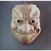 置物 DFYDMY 木製能マスク戦士伝統工芸ゴースト女性部屋装飾壁掛けパーソナリティ家の装飾C-22CM
