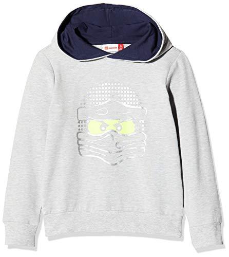 Lego Wear Jungen Lwsam Ninjago Sweatshirt, Grau (Grey Melange 912), (Herstellergröße: 140)