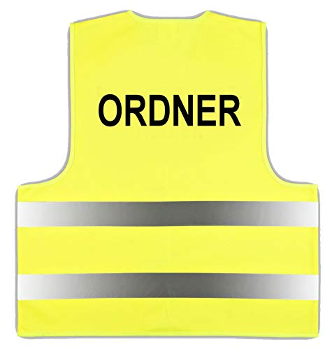 Warnweste Gelb Gr. XL/XXL Ordner easyMesh® Signalweste ISO20471 (1)