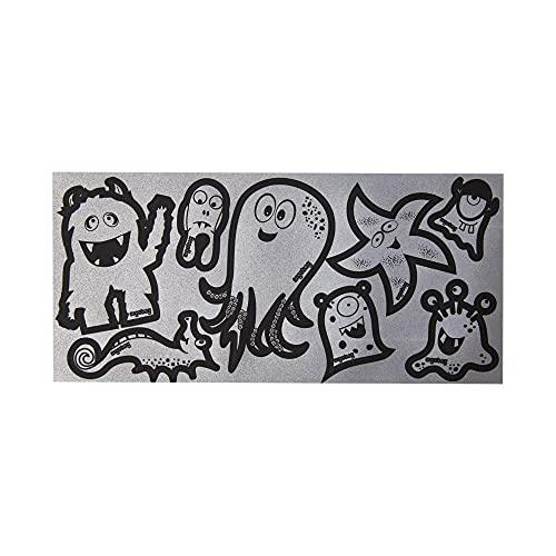 ergobag Sticker - Reflektierende Aufkleber für Kinder auf Rucksäcken und Taschen