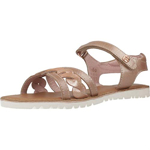 Kickers Mädchen Betty Sandalen, Pink (Rose Metal 133), 31 EU
