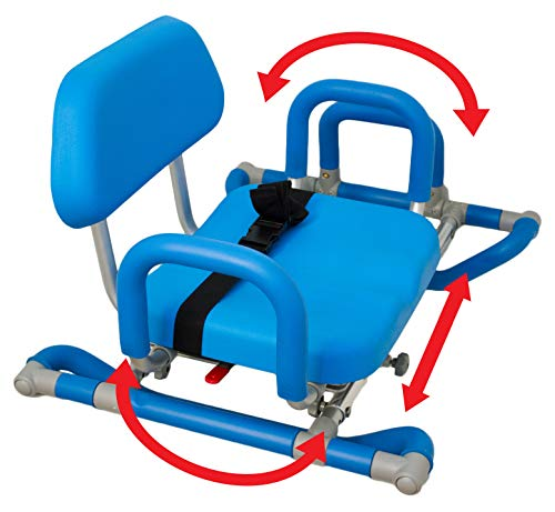 Platinum Health Bath and Shower Chair with Padded Swivel Seat