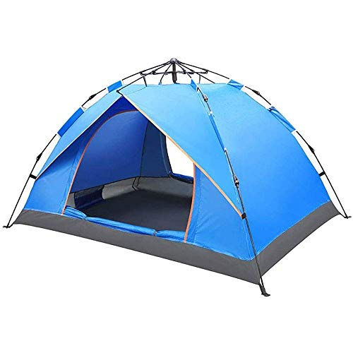 Tent for Camping Portable Automatic Pop-Up Camping Tent,Beach Tent Quick Cabana Sun Shelter, Water Resistant, Ventilated and Durable for Hiking Climbing Beach Camping Picnic