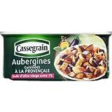 Cassegrain Aubergines cuisinées à la provençale - La boîte de 185g
