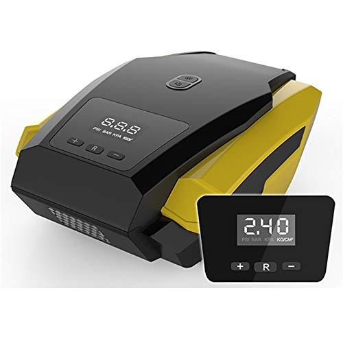 COMPRESOR DE Aire COMPRESOR DE Aire Porte Inflable Porte 12V Inflador de neumáticos para automóviles Mini Auto eléctrico para Barco de Viaje Compresores de Aire Herramienta (Color Name : Digital)