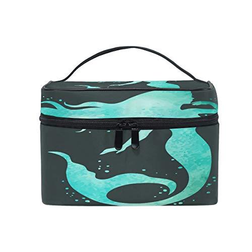 iRoad - Bolsa de maquillaje para mujer, diseño de sirena